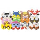 wholesale Costumes:mask animal, 21x15 cm
