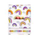 nagyker Játékok: kréta színű készlet 12 pbh, doboz 10,5x6x2cm