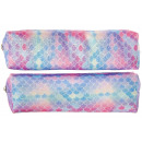 wholesale Gifts & Stationery: pencil case glitter scales pp, 19x5x4cm