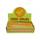 wholesale Gifts & Stationery:ruler dino, 15cm