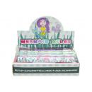 Großhandel Geschenkartikel & Papeterie: Lineal Meerjungfrau, 15cm
