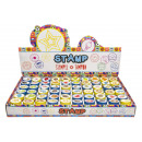 wholesale Gifts & Stationery: stamps, 16,5x28,5x3,5cm Ø2,5cm