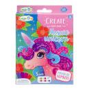 wholesale Crafts & Painting: unicorn mosaic, 16x12,5x2,5cm - h 2cm