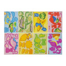 wholesale Miscellaneous Bags: 3d dinosaur pp, 8 times assorted , 10,5x7,5cm - 1