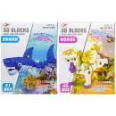 3d puzzle shark/unicorn, 26x19x6cm