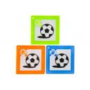 football sliding puzzle pp, 5,5x5,5cm