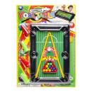 snooker set m, blister card, 23x34cm