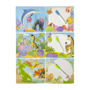 animal puzzle with writing board, 17x19x2cm-header