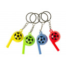 wholesale Necklaces: key chain football whistle, whistle 6cm