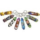 key chain skateboard, skateboard 10cm