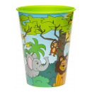 cup jungle animals, 260ml