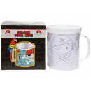 color your own mug pirate, 10,5x8x10cm