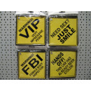 wholesale Bags & Travel accessories: traffic sign yellow pp, 14x14cm