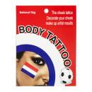 groothandel Speelgoed: Set van 4 wangetjes Tattoo Holland