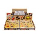 mayorista Joyas y relojes: pegatinas, pirata, jardinera, 10x11,5cm - 12pcs st