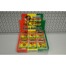wholesale ashtray: ashtray m rectangular rasta, 9x6x3,5cm