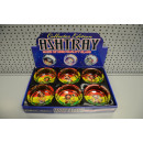 wholesale ashtray: ashtray round l rasta, 10x4cm Ø10cm