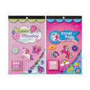 pony stickerbook, 2 times assorted , 15x24,5cm