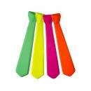 necktie long fluo, 47cm