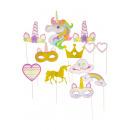 photoprops unicorn, bag 28,5x21 - h4,5cm