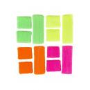 neon sweatband set, 20x14cm - h 14x5cm
