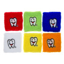 wristband tooth, wristband 7x7cm