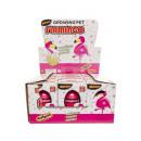 wholesale Decoration: growing flamingo egg box, 5,5x7,5x10,5cm