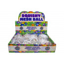 squeeze ball with balls inside, 6,5cm Ø6,5cm