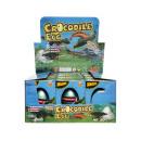 groothandel Woondecoratie: krokodil groeiend eierdoosje, 5,5x7,5x10,5cm