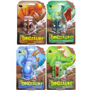 foldable dinosaur, blister card, 14,5x21x5cm