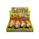 wholesale Toys: sloth slime sucker, 8cm sloth