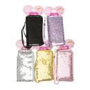 wholesale Wallets: mini purse on card, purse 14,5x8cm