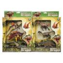 Set of 3 dinosaur box, 28x23x6cm-h 4,5cm