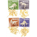 wholesale Puzzle: diy dino puzzle, 9x7cm - h5cm