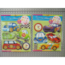 wholesale Licensed Products: room deco stickers cars, sheet 38cmx30cm