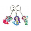 key chain mermaid, 6x4cm