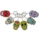 key chain dias de los muertos, 7x5cm