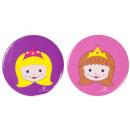 wholesale Haberdashery & Sewing: princess button, 4,5cm Ø4,5cm