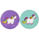 wholesale Haberdashery & Sewing: unicorn button, 4,5cm Ø4,5cm