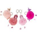 grossiste Cadeaux et papeterie: flamant rose / licorne moelleux, 8cm