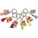 wholesale Gifts & Stationery: key chain owl hanger, owl 3,5x2,5cm