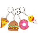 key chain fast food, 4,5-5cm average