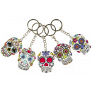 key chain day of the dead, 5,5x4cm