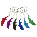 wholesale Kitchen Gadgets: key chain bottle opener dolphin, 7cm