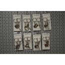 wholesale Gifts & Stationery: key chain Set of 2 heart-arrow, 4cm heart
