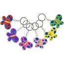 key chain butterfly, 5,5x4cm