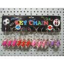 key chain hot lips, 4,5x3cm