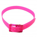 wholesale Belts: Silky fluorescence strap extra pink color