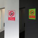 grossiste Mallettes, boites à outils et kits: Fumée phosphorescente fumée interdite ...