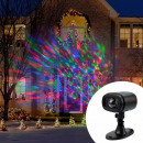 Projektor Multicolor Kaleidoskop LED, IP65, Fernbe